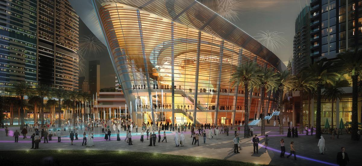 The Dubai Opera House by Atkins