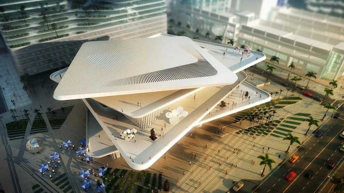 The Latin American Art Museum in Miami, by FR-EE / FR-EE