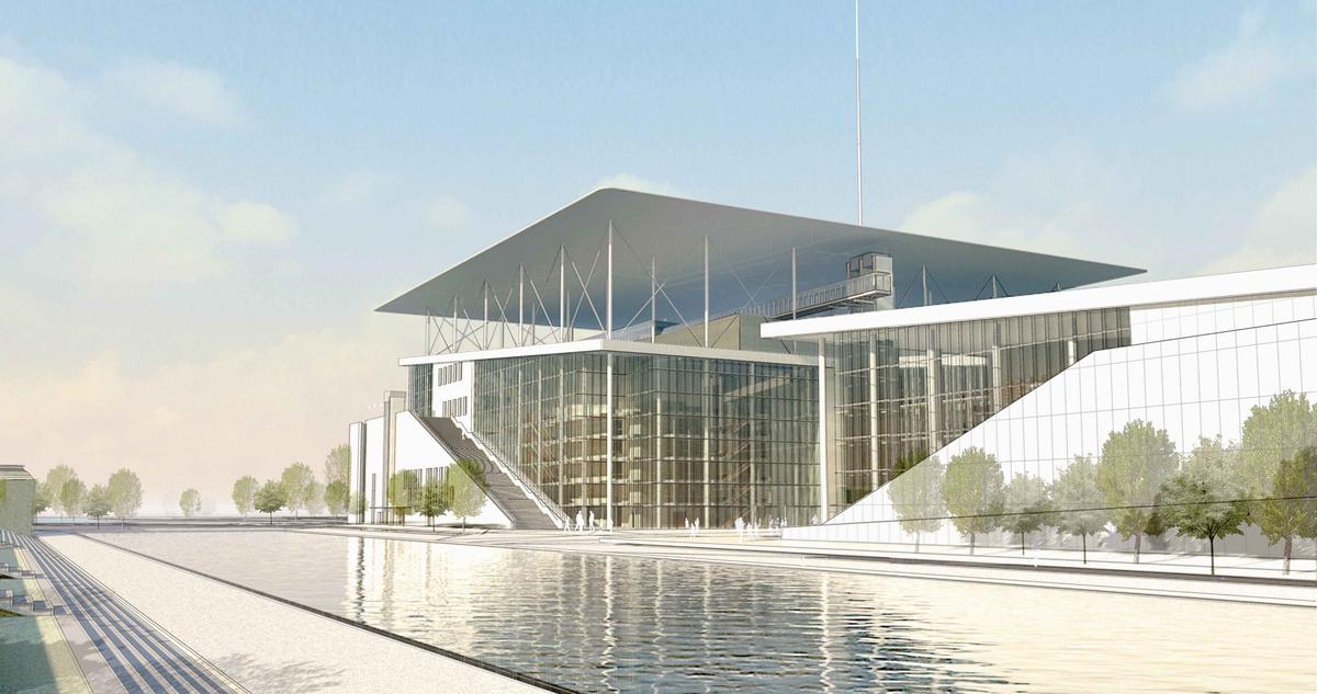 The Stavros Niarchos Cultural Centre, by Renzo Piano Building Workshop / Renzo Piano Building Workshop