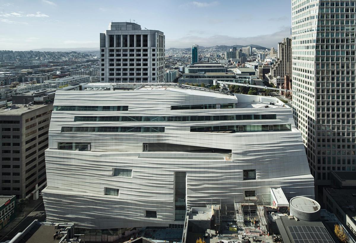 The San Francisco Museum of Modern Art (SFMOMA) by Snøhetta
