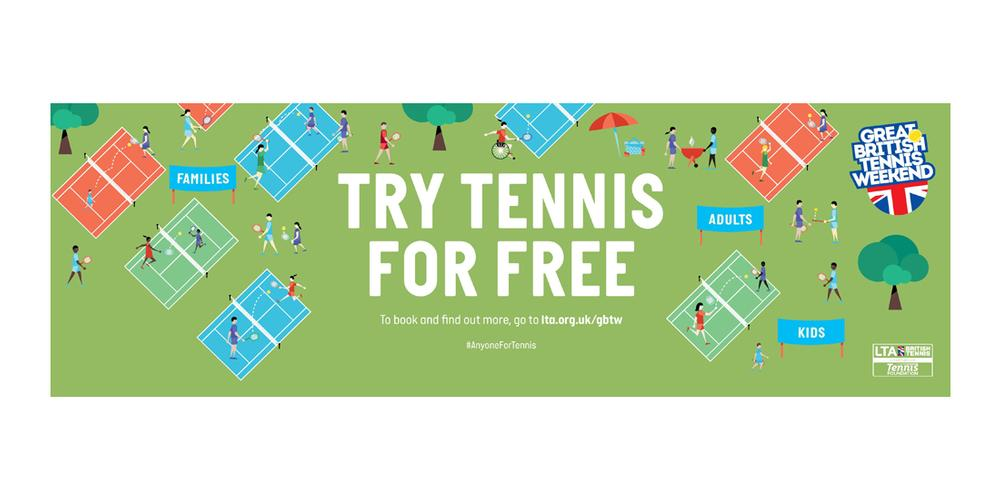 The LTA's Try Tennis for Free campaign was launched this year