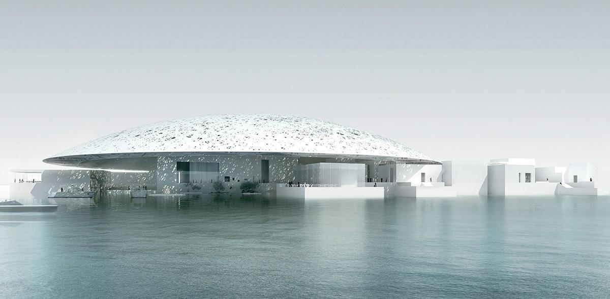 The Louvre Abu Dhabi by Jean Nouvel