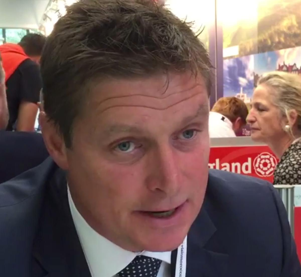 Golf Tourism England CEO Andrew Cooke aims to emulate the success of countries like Scotland and Ireland / Youtube