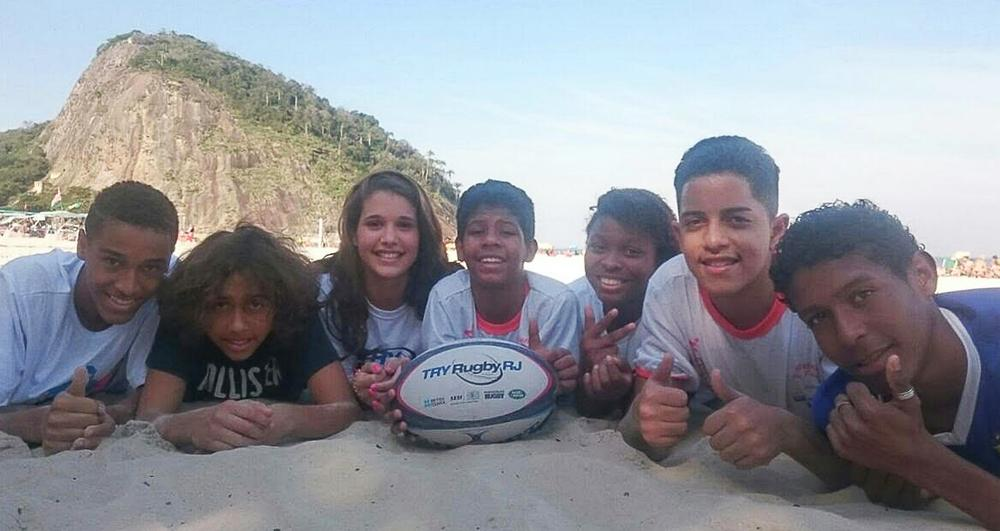 Appetite for rugby is growing in Brazil, especially among the young / image ©: JÃŒrgen KeÃler / dpa images