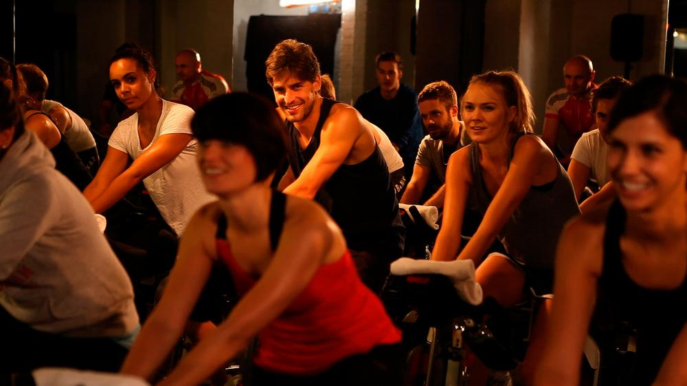 Classes include the 30 minute Express Lunch class, Hip Hop Cycle, Latin Cycle and the Two Hour Ride