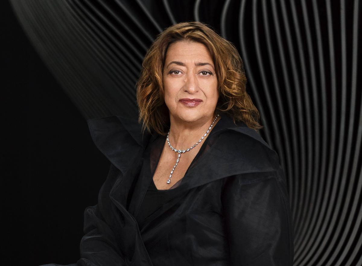 Hadid also became the first woman to be awarded the Pritzker Architecture Prize in 2004 / Mary McCartney