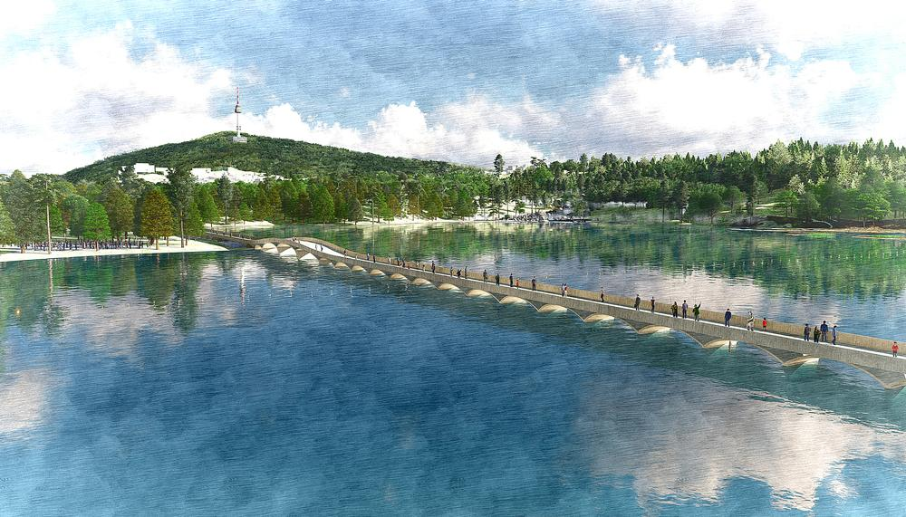 The Yongsan Park project will see a military installation replaced by a public park