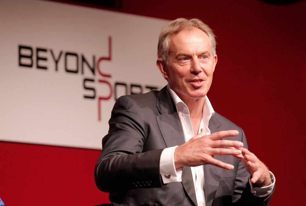 Beyond Sport ambassador Tony Blair