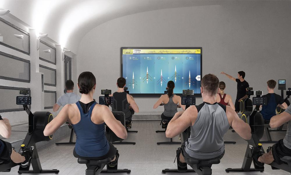 Indoor rowing studios are set to be the next big thing, and SKILLROW classes can be high energy and competitive