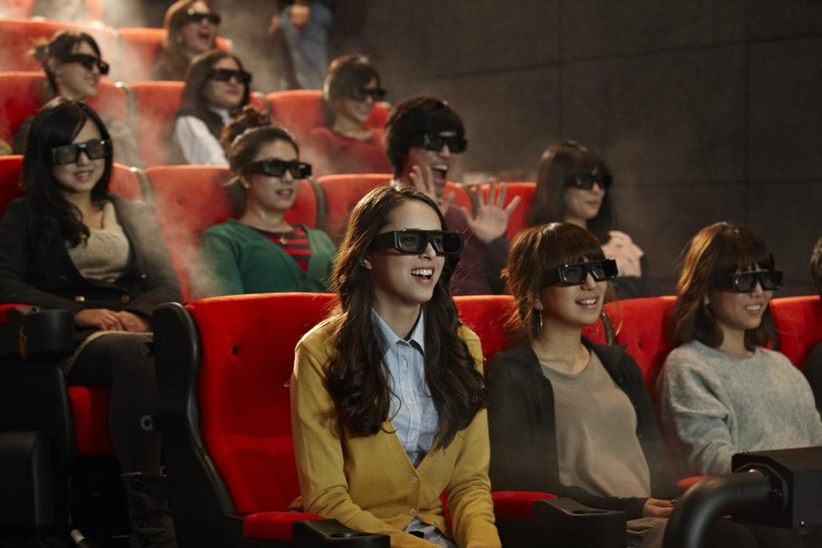 The 4DX technology can support more than 200 different movies / Cineworld