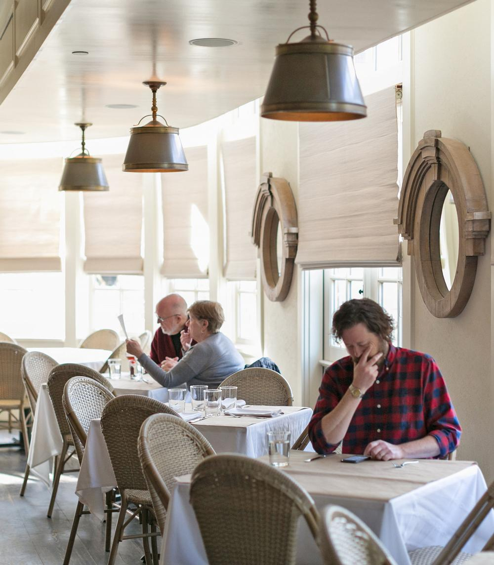 The Hill restaurant at Serenbe focuses on sustainable and locally grown food, and includes produce from Serenbe Farms