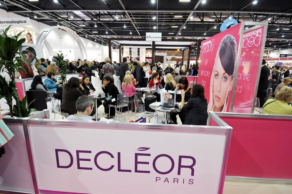 All the major skincare brands will be exhibiting at the show