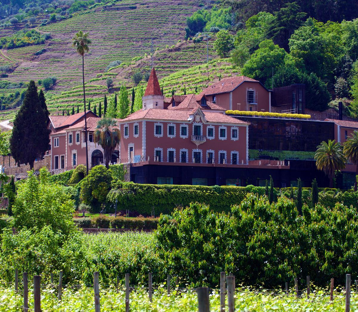 The resort is located in a 22-acre, 19th century vineyard set within a UNESCO World Heritage Site