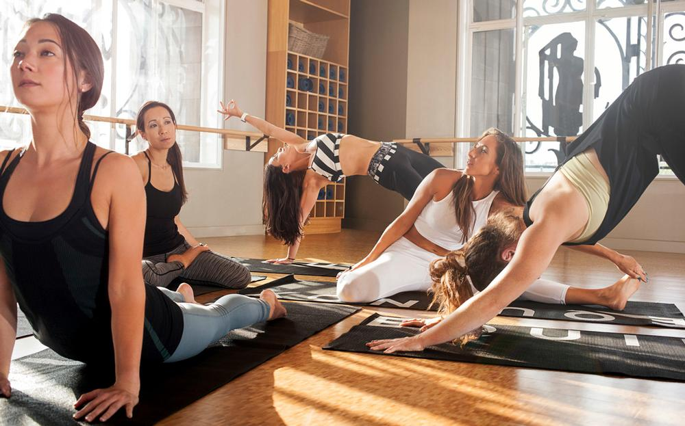 Despite its reputation as an innovative fitness brand, Equinox markets its clubs as 'temples of wellbeing' with spas placed at the front of its services
