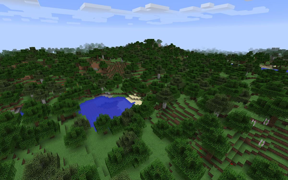 Minecraft is being used to engage children in a wide range of projects, with the park design competition the latest example / Mojang AB