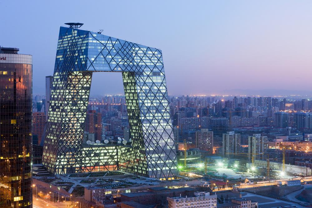 The China Central Television HQ in Beijing is one of Scheeren's best-known buildings / Image: Iwan Baan