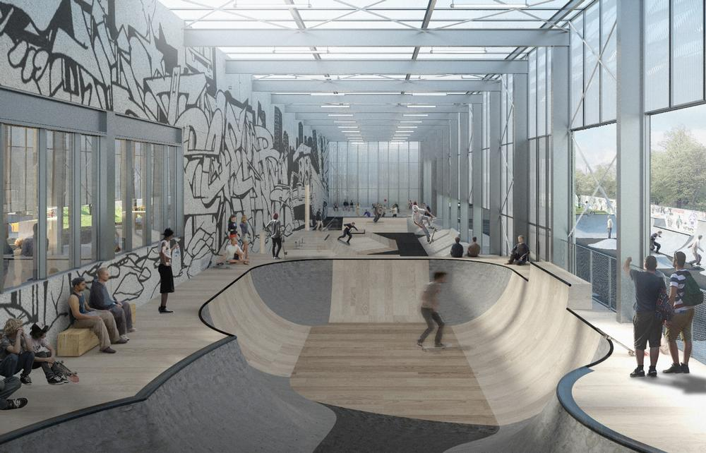 Streetmekka Viborg will see a windmill factory transformed into a centre for street sport and art