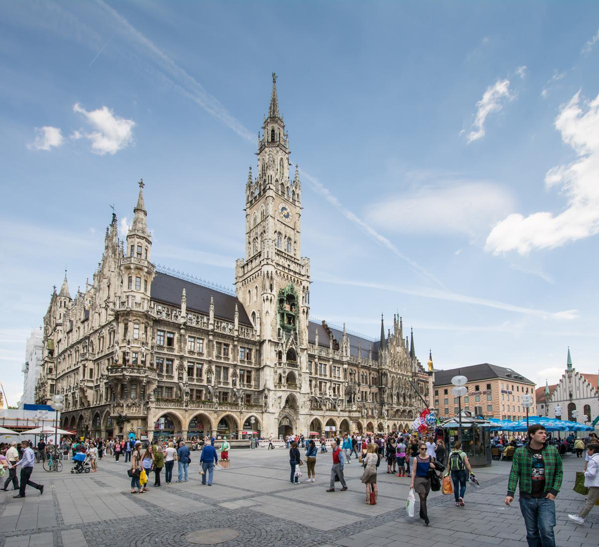 Munich: one of the 'hot cities' identified in the HVS preview of 2015 / Shutterstock: manfredxy