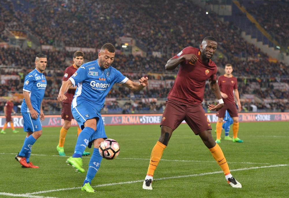 AS Roma plays FC Empoli in a recent Serie A match at its current home, Stadio Olimpico / PA