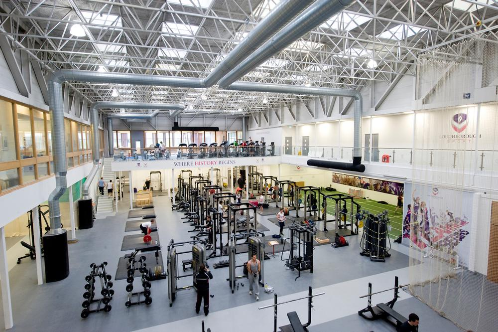 The UK's leading sporting university, Loughborough, has invested £11m in its Holywell Sports Complex since 2010