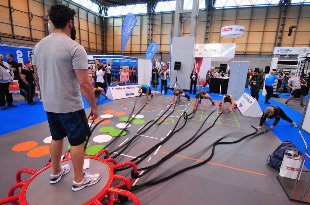The show floor was busier than ever, with over 120 live demonstrations