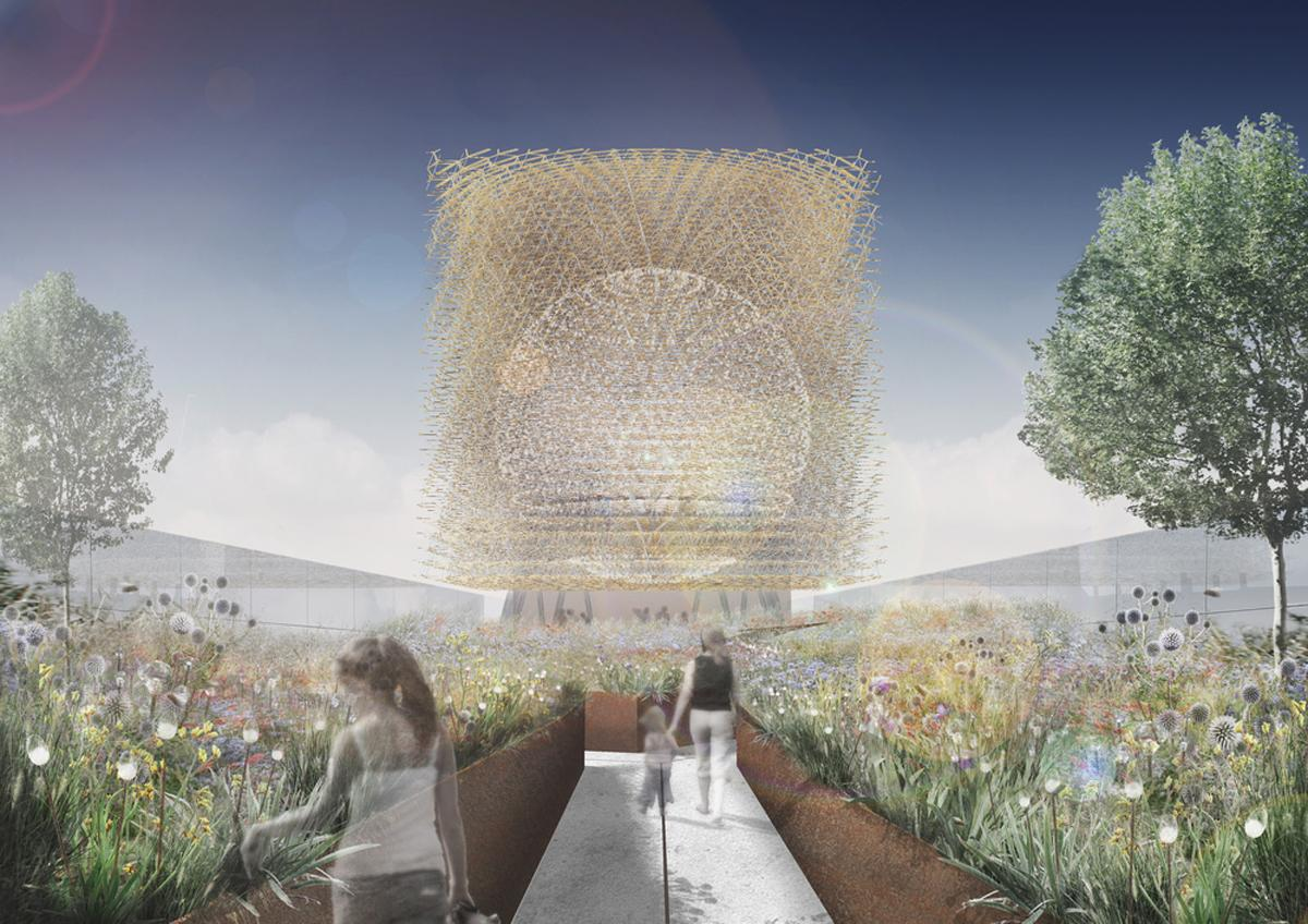 An original concept for the Hive / Wolfgang Buttress