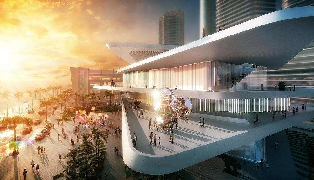 The Latin American Art Museum is being built by an art collector who wants to expand his existing gallery / PHOTO: LAAM FR-EE Fernando Romero Enterprise