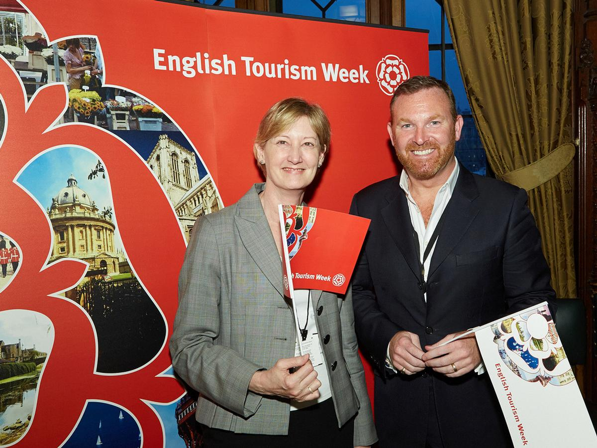 Bernard Donoghue (right) was previously deputy chair of The Tourism Alliance / Flickr.com / VisitEngland BIZ