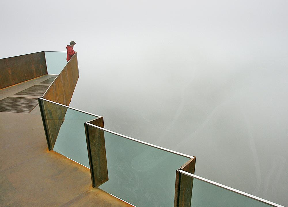 The Trollstigen viewing platform on the network of National Tourist Routes in Norway / PHOTO: HELGA STIKBAKKE