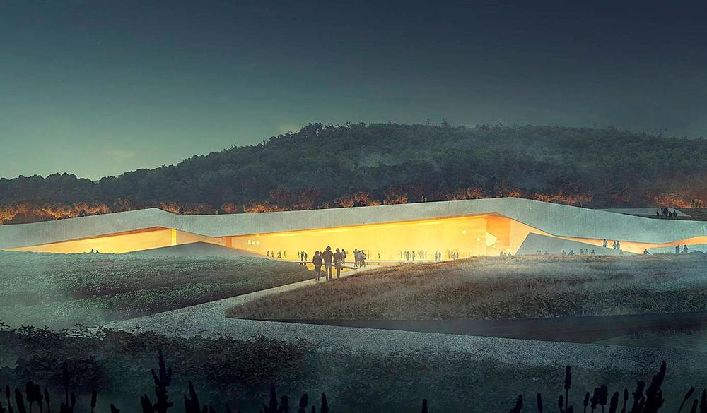 The Lascaux IV Caves Museum will include a recreation of the caves / IMAGE: © SNØHETTA & MIR