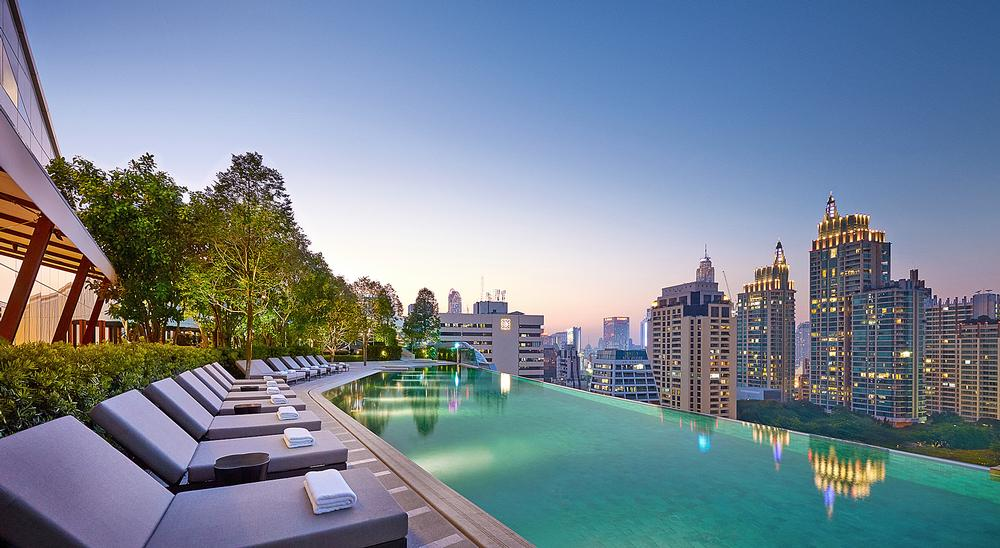 The Park Hyatt Bangkok. YP also designed the Park Hyatt New York / Photo courtesy of Park Hyatt