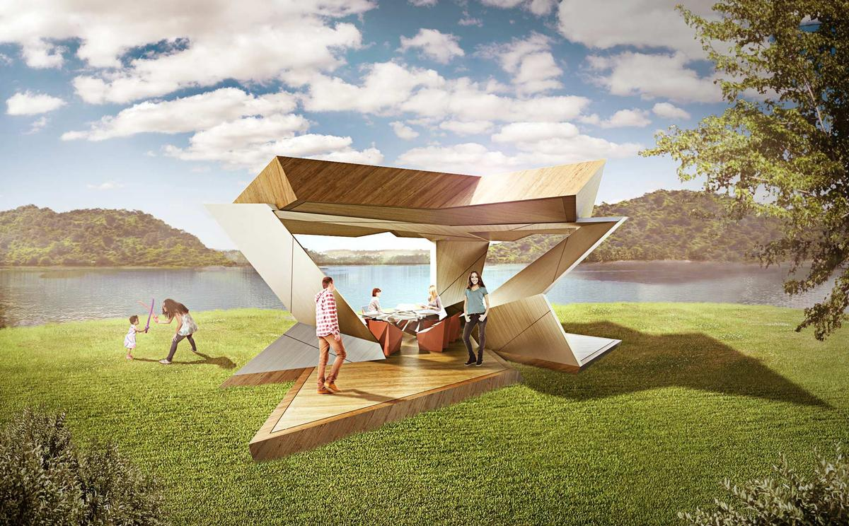 The ReCreation Pavilion by Studio Libeskind