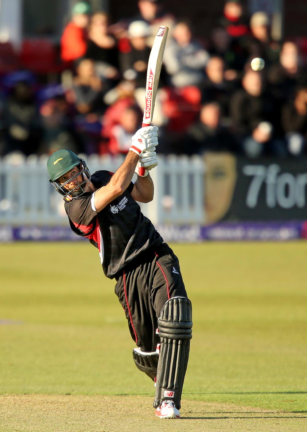 Leicestershire will be able to begin T20 matches an hour later due to the installation of floodlights, which should generate more revenues / Simon Cooper/EMPICS Sport