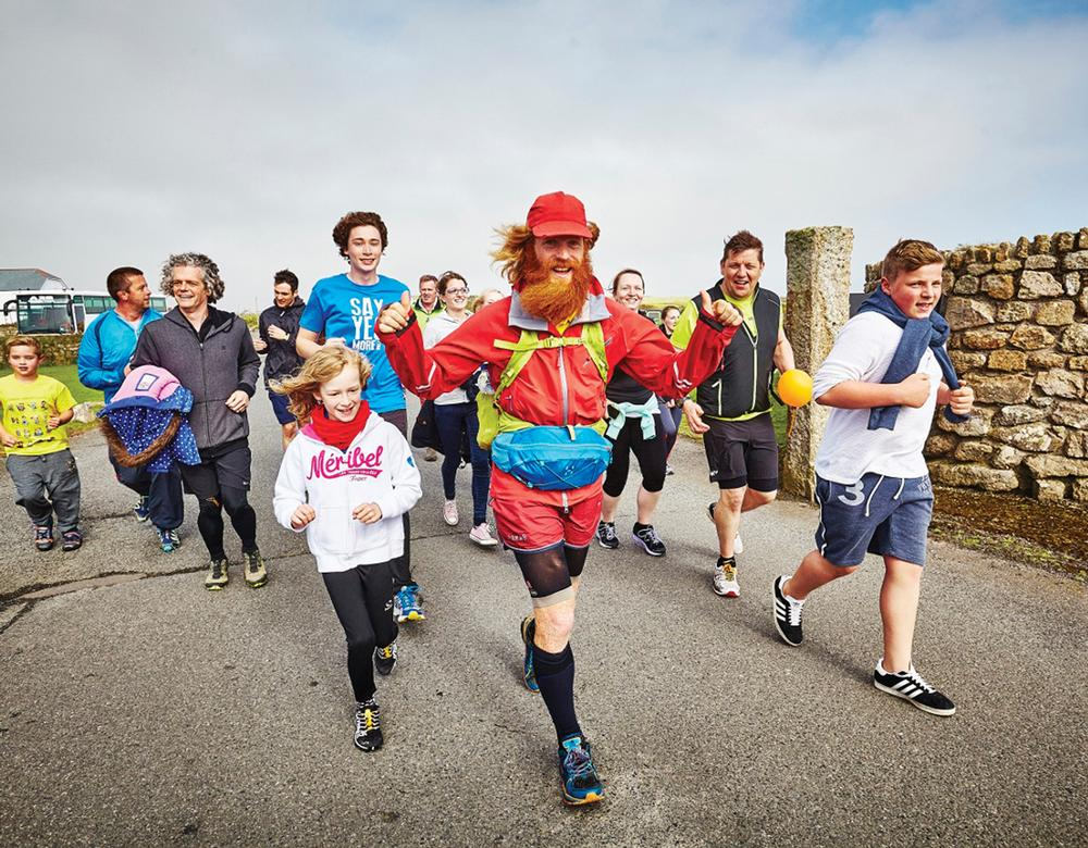 Conway completed his run across the UK in May