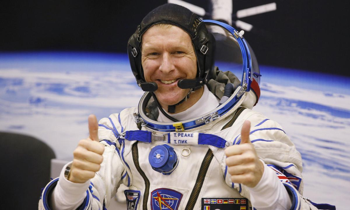 Peake is working on-board the ISS for a six-month period