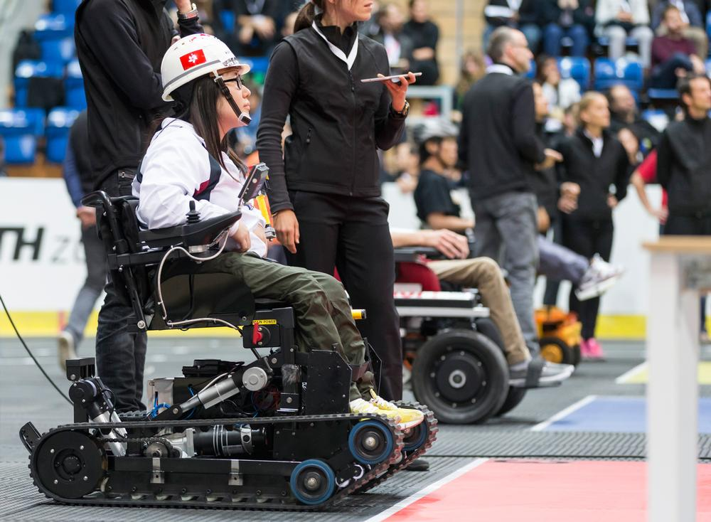 Competitors took part in six separate disciplines using assistive technology