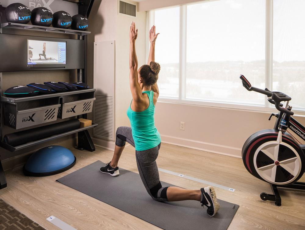 Over 200 different workouts have been developed in partnership with a specialist designer