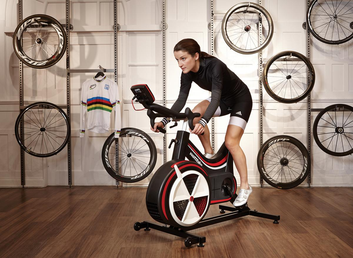 The cycling star will use the Wattbike in her training programme as she prepares for the 2016 Rio Olympics