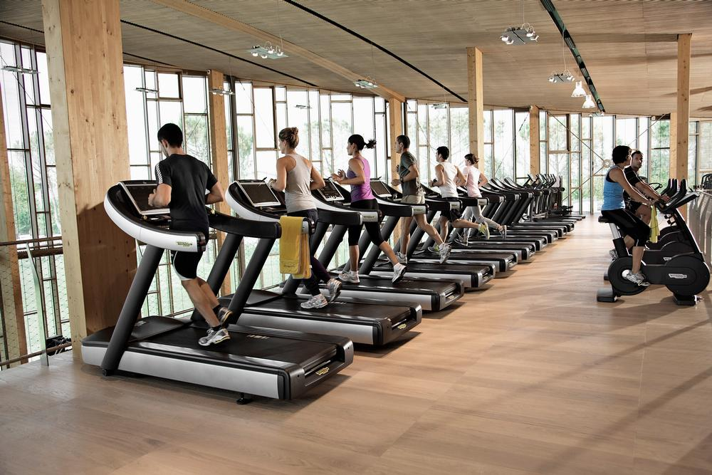 The Wellness Village has been designed to encourage activity, such as taking the stairs rather than the lift. The huge gym doubles as a showroom, while the canteen offers a range of healthy, organic food