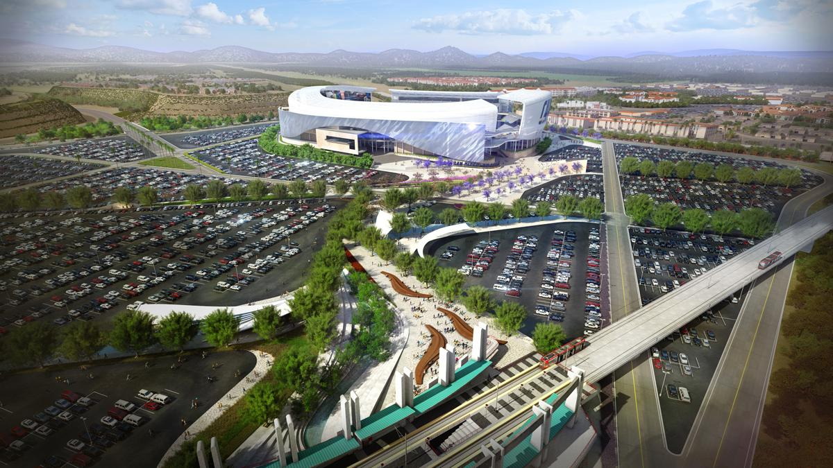 The US11bn Stadium Will Have A Capacity Of 67500 And Largest End Zone