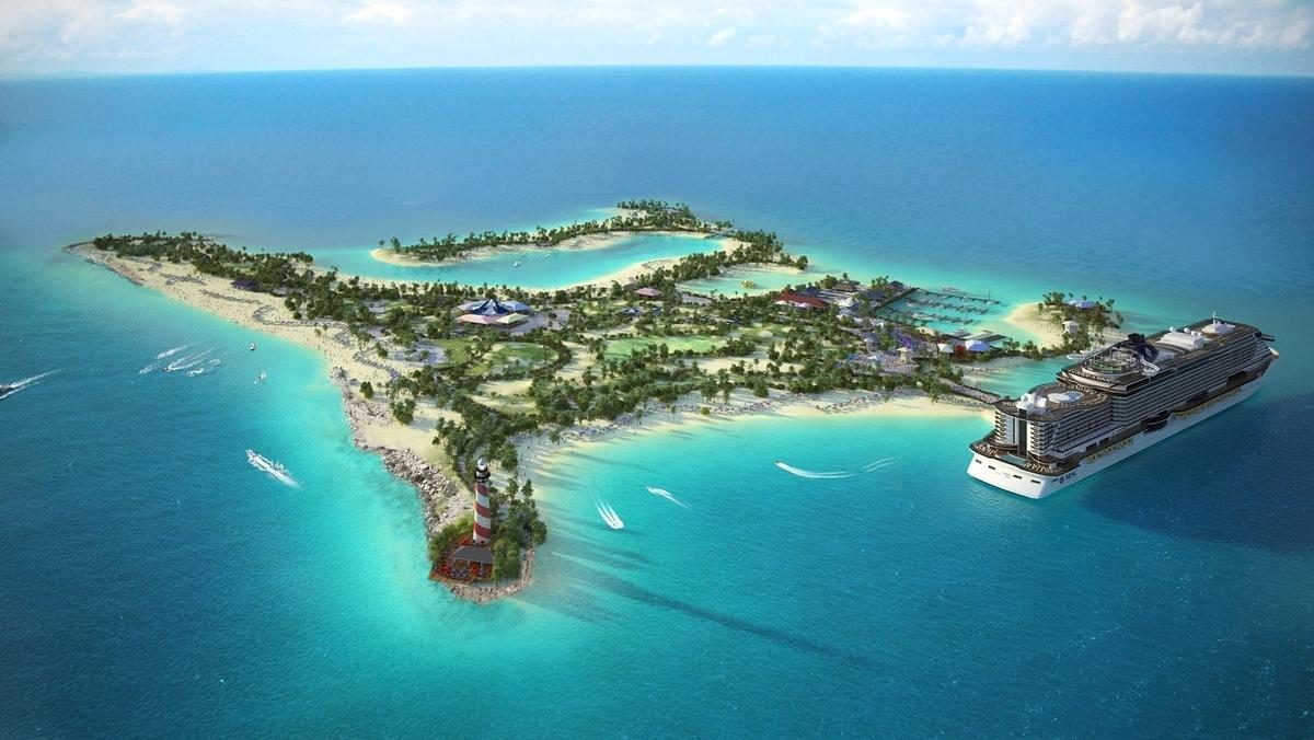 Construction will begin in March 2016, and Ocean Cay MSC Marine Reserve will open to guests in November 2017 / MSC Cruises