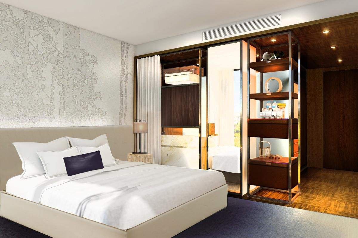The hotel will feature 179 guest rooms and suites / Rockwell Group