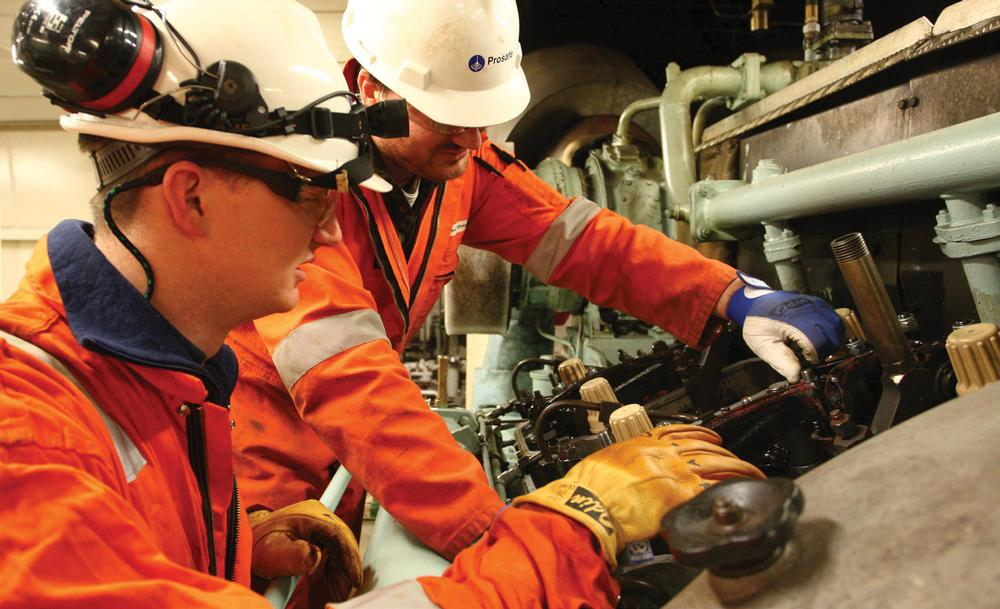Good health and fitness among the workforce on the rig is vital, as it can determine survival rates in an emergency situation