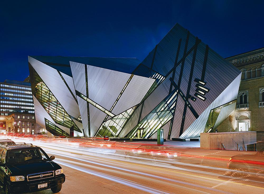 Libeskind designed the extension to the Royal Ontario Museum, opened in 2007 / PHOTO: Royal Ontario Museum