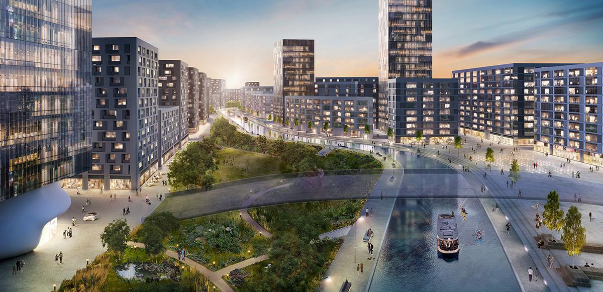 The Old Oak Common development will feature a cultural quarter