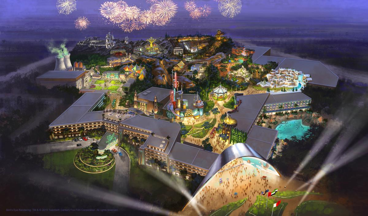 The deal allows for a roll-out of up to three additional Fox-branded resorts in territories outside Dubai / Twentieth Century Fox