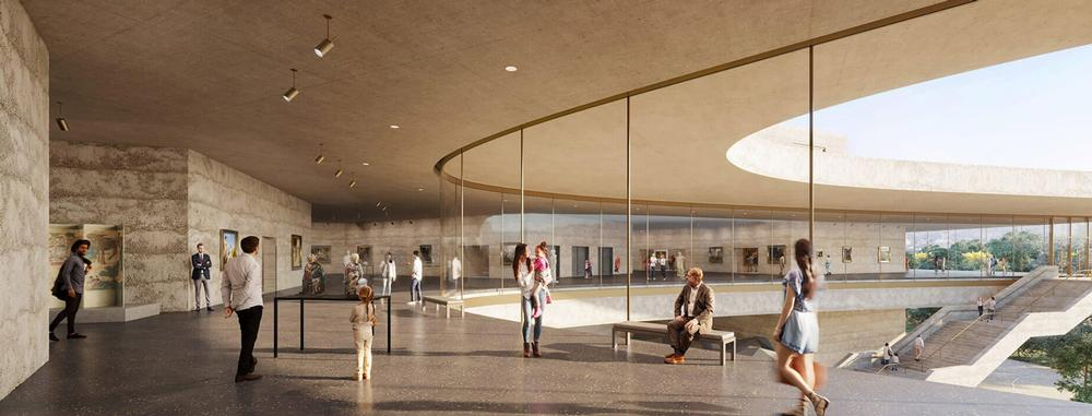 Zumthor is designing a new home for the LACMA collection