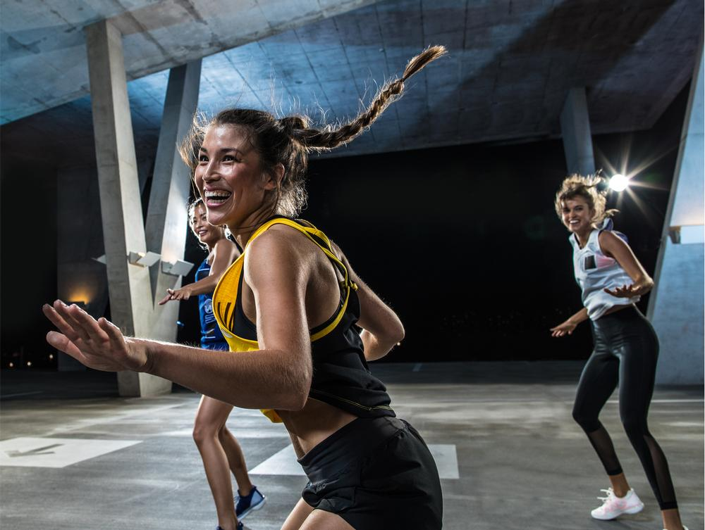 Les Mills offers 21 workouts, including Bodyattack. All are updated every three or four months
