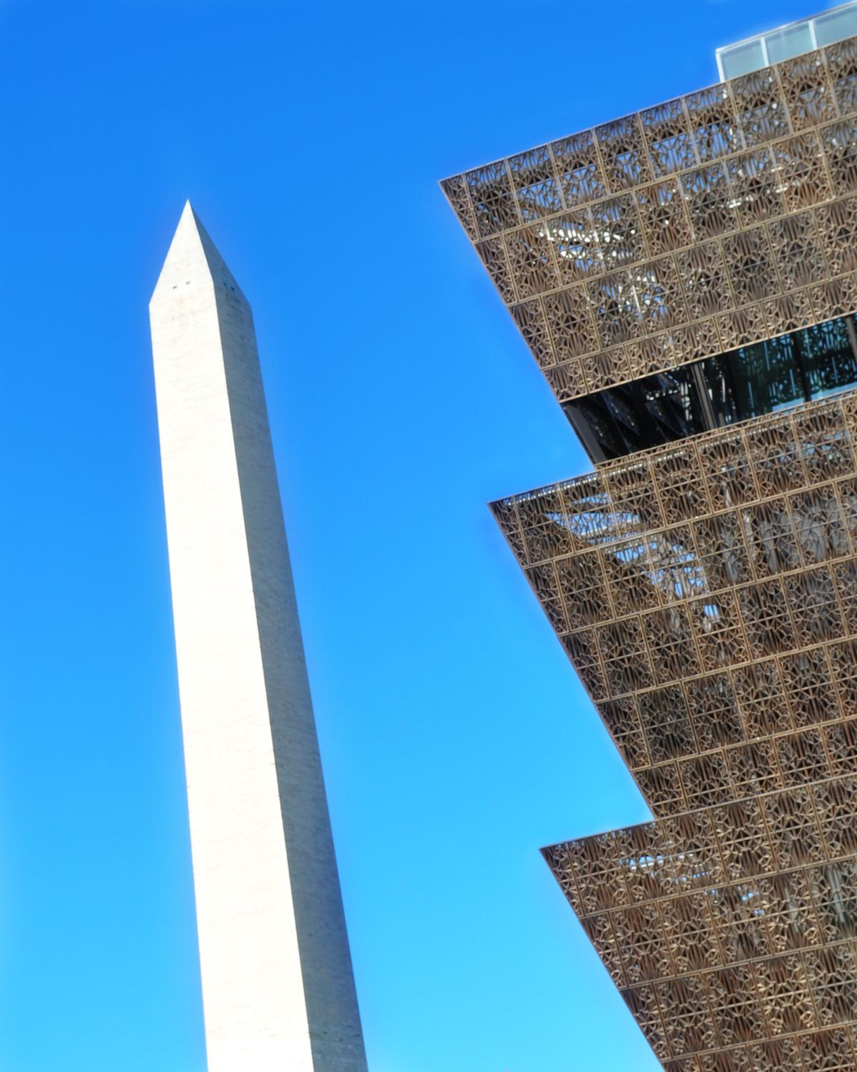 Visitors will be able to look out towards the Washington Monument and the White House
