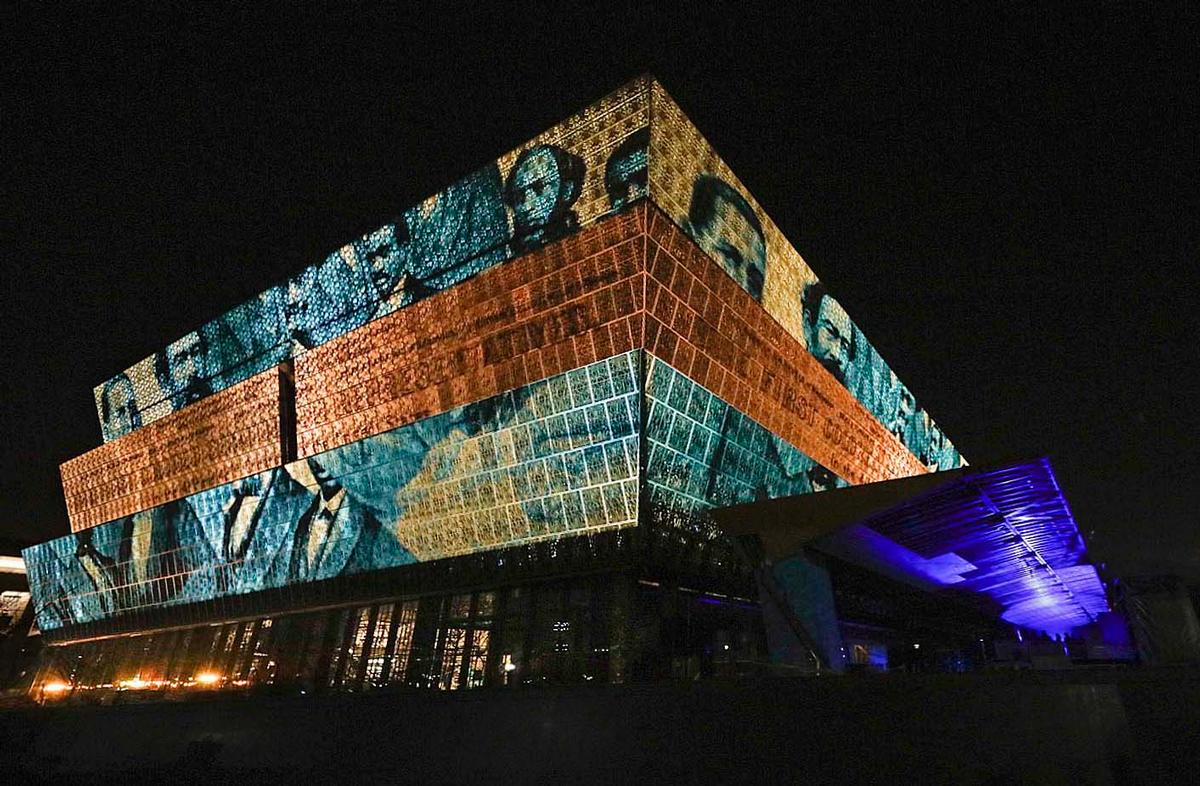 The museum will open to the public on 24 September 2016 / National Museum of African American History and Culture